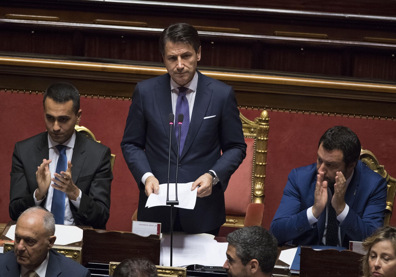 Il governo del premier conte ottiene la fiducia anche for In diretta dalla camera dei deputati