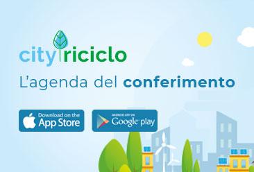 CityRiciclo - l'agenda per il conferimento.